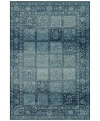 "Image of CLOSEOUT! D Style Menagerie MEN1544 Sky Blue 8'2"" x 10' Area Rug"