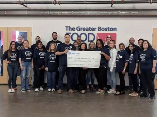 Adaias Souza - Supporting The Greater Boston Food Bank