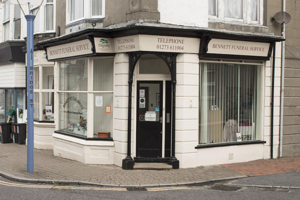 Bennett Funeral Directors in Newhaven, East Sussex.