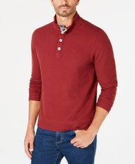 Image of Tommy Bahama Men's Cold Spring Mock Neck Knit, Created for Macy's