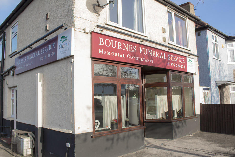 Bournes of Dartford Funeral Directors in Dartford, Kent.