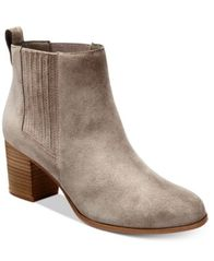 Image of INC International Concepts Fainn Block-Heel Booties, Created for Macy's