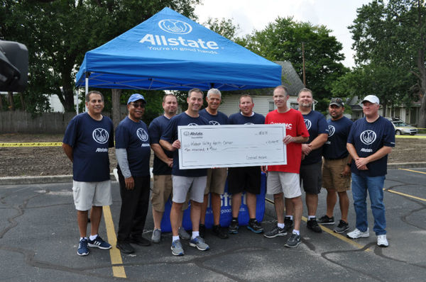 Greg Kerns - Allstate Foundation Helping Hands Grant for Wabash Valley Health Center