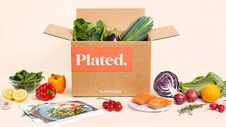 Plated: Fresh Fruits and Vegetables