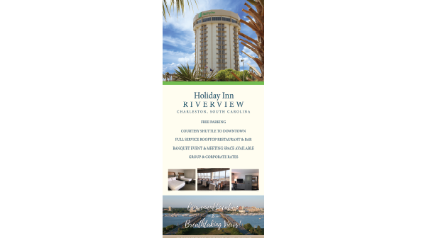 Flyer Design and Printing for Hotels in Charleston South Carolina