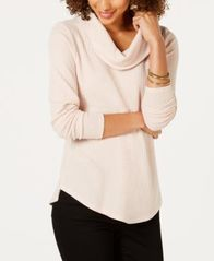 Image of Style & Co Cowl-Neck Thermal, Created for Macy's