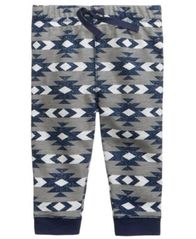 Image of First Impressions Geo-Print Jogger Pants, Baby Boys (0-24 months), Created for Macy's