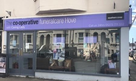 The Co-operative Funeralcare Hove with Caring Lady Hove