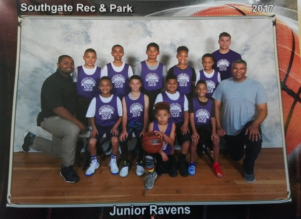 Southgate Basketball 2017 Jr. Ravens - Rizal Community Center