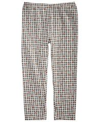 Image of First Impressions Baby Girls Checkered-Print Leggings, Created for Macy's