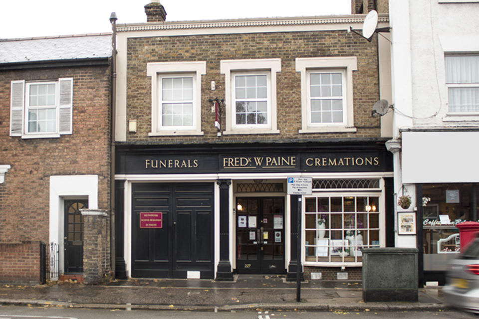 Frederick W Paine Funeral Directors in Isleworth