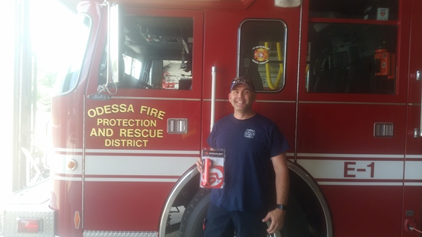 Donation to Odessa Fire Department.