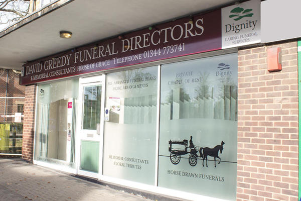 David Greedy Funeral Directors in Crowthorne