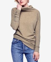 Image of Free People Kitty Cowl-Neck Top