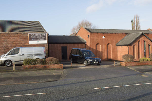 J C Clarke & Son Funeral Directors in Blacon, Chester