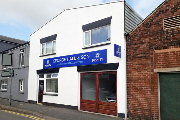 George Hall & Son Funeral Directors in Barrow In Furness, Cumbria.