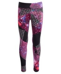 Image of Ideology Big Girls Galaxy-Print Leggings, Created for Macy's