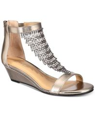 Image of Thalia Sodi Tacey Wedge Sandals, Created for Macy's