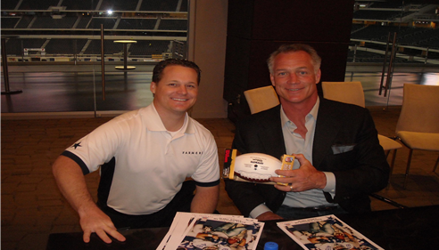 Legendary full back for the Dallas Cowboys - Daryl Johnston