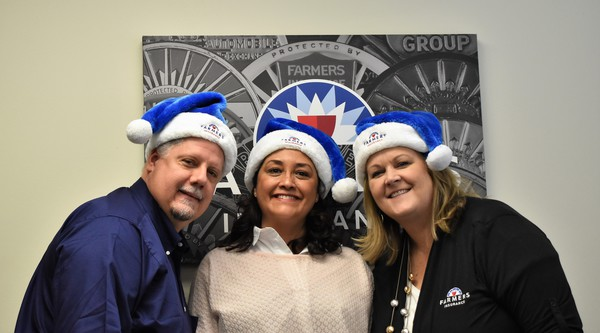 Merry Christmas from Kathy, Sandra and Eric!