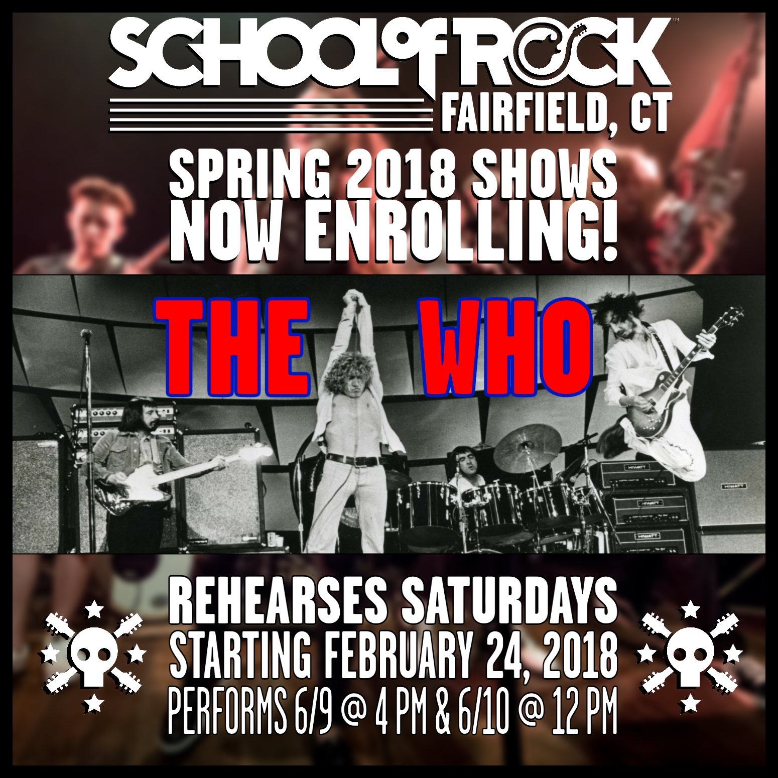 Image of SPRING SHOW #6: THE WHO