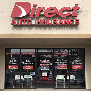 Front of Direct Auto store at 578 Goodman Road, Southaven