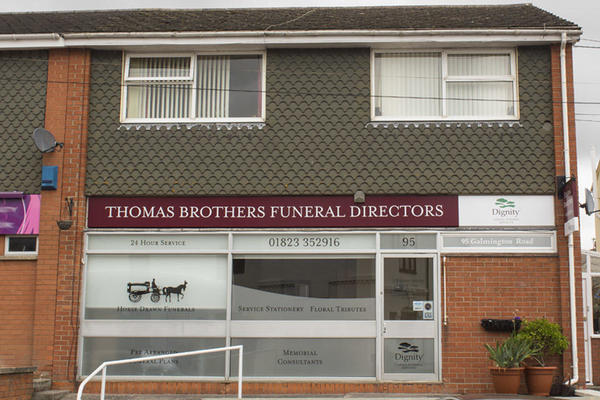 Thomas Brothers Funeral Directors in Taunton, Somerset.