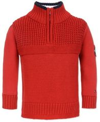 Image of Tommy Hilfiger Big Boys Novelty Stitch Sweater