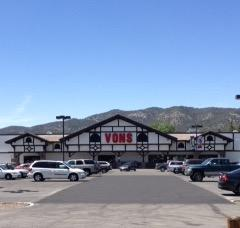 Vons Store Front Picture at 42170 Big Bear Blvd in Big Bear Lake CA