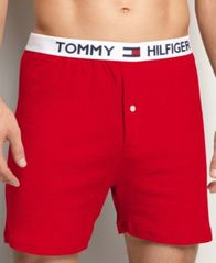 Image of Tommy Hilfiger Men's Underwear, Athletic Knit Boxer