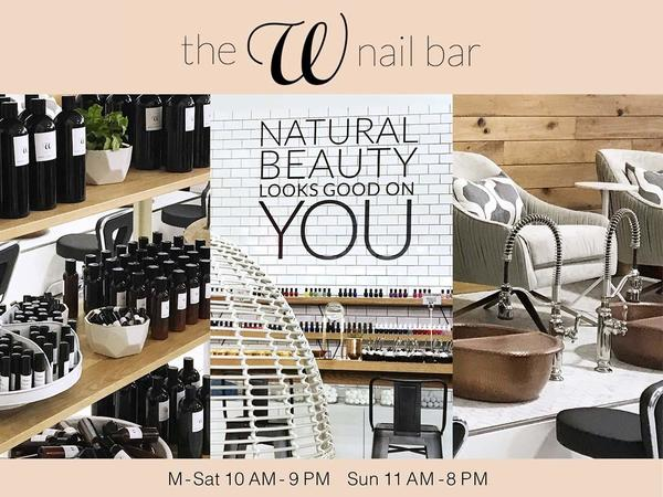 Picture of DSW's nail bar at it's Shops at Arbor Walk location