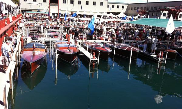 Concour's De Elegance - Wooden Boat Show in Lake Tahoe