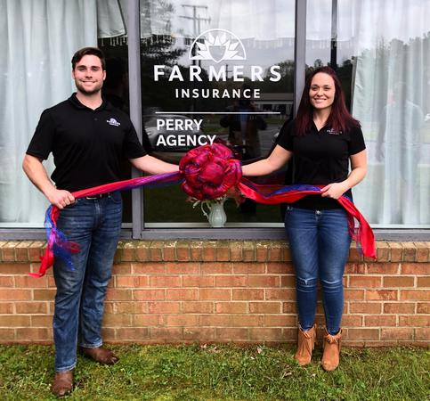Perry Agency Grand Opening event on April 13, 2019.