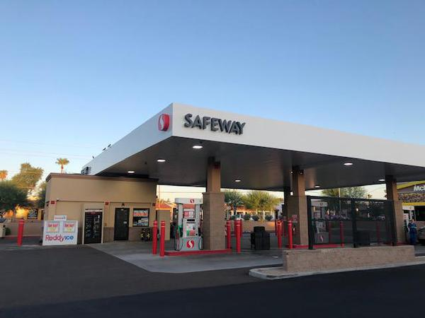 Safeway Fuel Station Store Front Picture - 10773 N Scottsdale Rd in Scottsdale