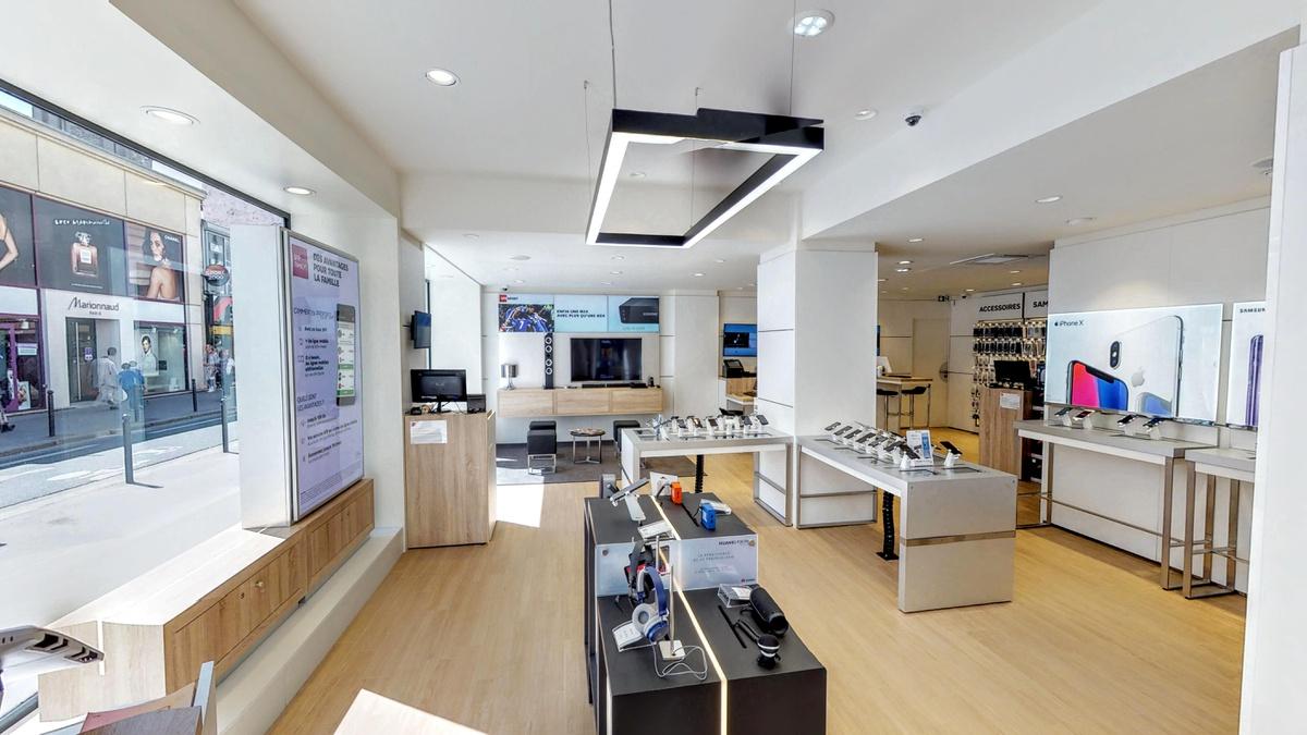 boutique sfr paris commerce forfaits t l phone et internet. Black Bedroom Furniture Sets. Home Design Ideas