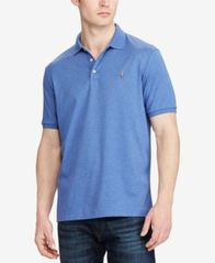Image of Polo Ralph Lauren Men's Classic Fit Short Sleeve Soft Touch Polo