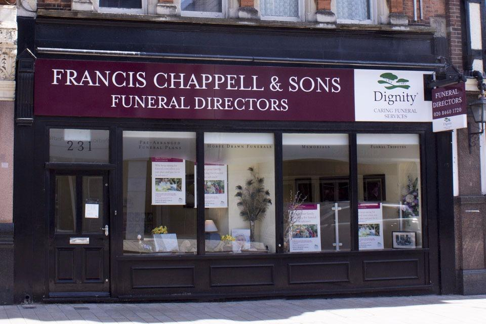 Francis Chappell & Sons Funeral Directors in Bromley