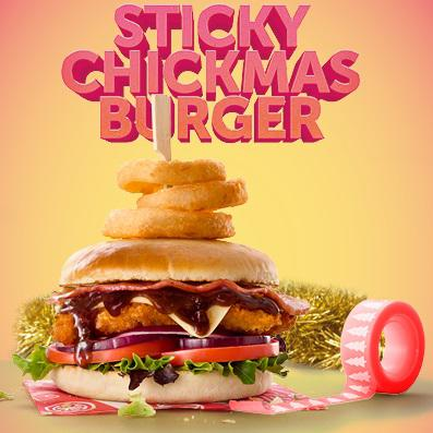 Image of Sticky Chickmas Burger