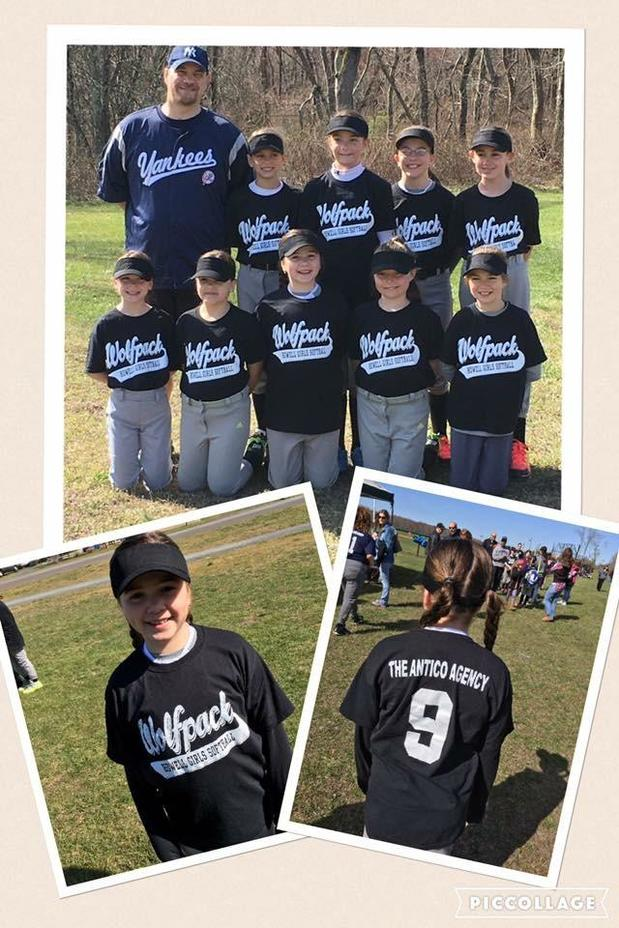 Howell Girls Softball League - Team Sponsorship- WolfPacks!
