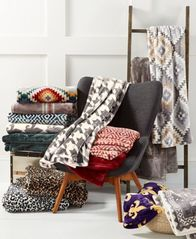 Image of Charter Club Cozy Plush Throw, Created for Macy's