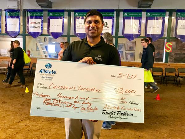 R J Puthran - Children's TherAplay Receives Allstate Foundation Helping Hands Grant
