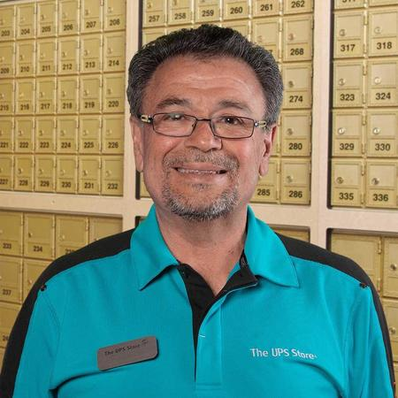 Male store owner