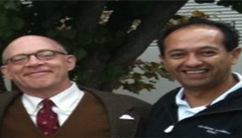 Agent Flavio Ortiz and Professor Nathaniel Burke - University of Farmers®