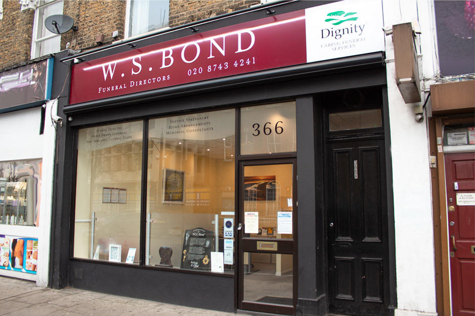 W S Bond Funeral Directors in Shepherd's Bush