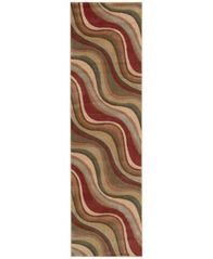 "Image of CLOSEOUT! Nourison Somerset Wave 2' x 5'9"" Runner Rug"