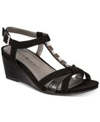 Image of Karen Scott Clarita Wedge Sandals, Created for Macy's