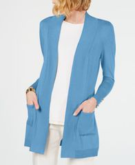 Image of JM Collection Open-Front Cardigan, Created for Macy's