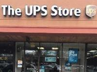 Facade of The UPS Store Burke