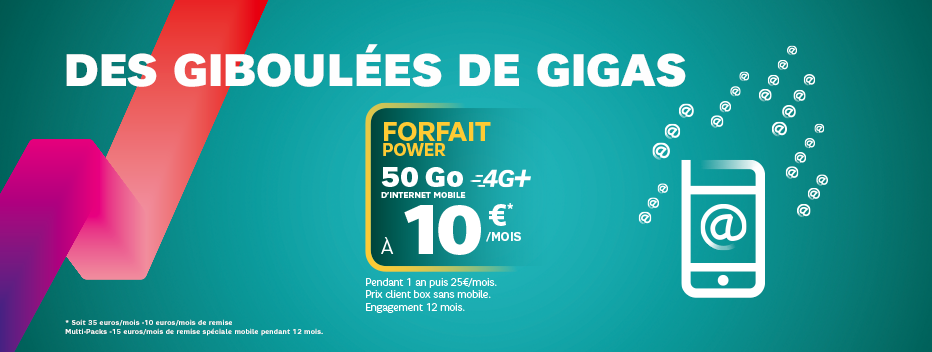 Power 50 Go à 10€/mois