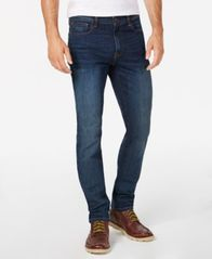 Image of Tommy Hilfiger Men's Straight Fit Stretch Jeans, Created for Macy's